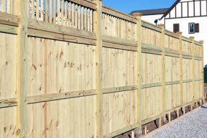 Land Surveying for a Fence Build
