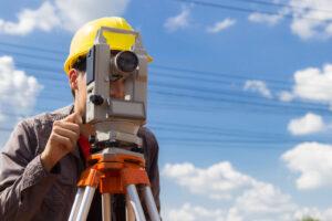 Surveyor conducted a route survey